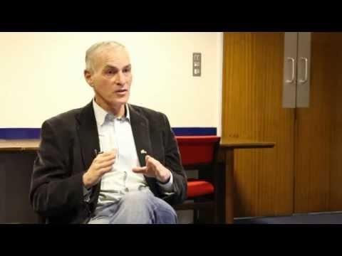 Finkelstein im Gespräch mit Barat